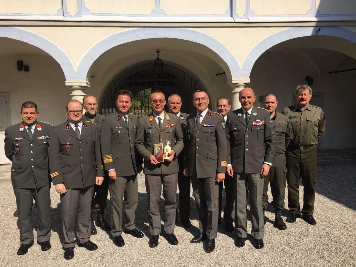 Militärpfarrer-Konferenz im Pfarrhof