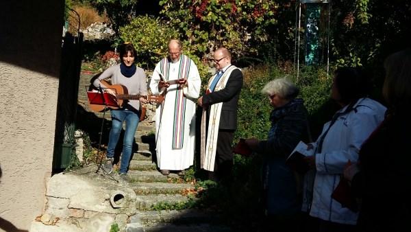 Franziskusfeier am Schöpfungsweg am 14.10.2017