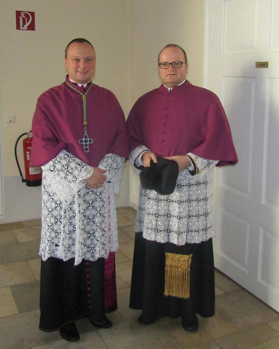 Leopoldifest im Stift Klosterneuburg mit Propst Markus Grasl