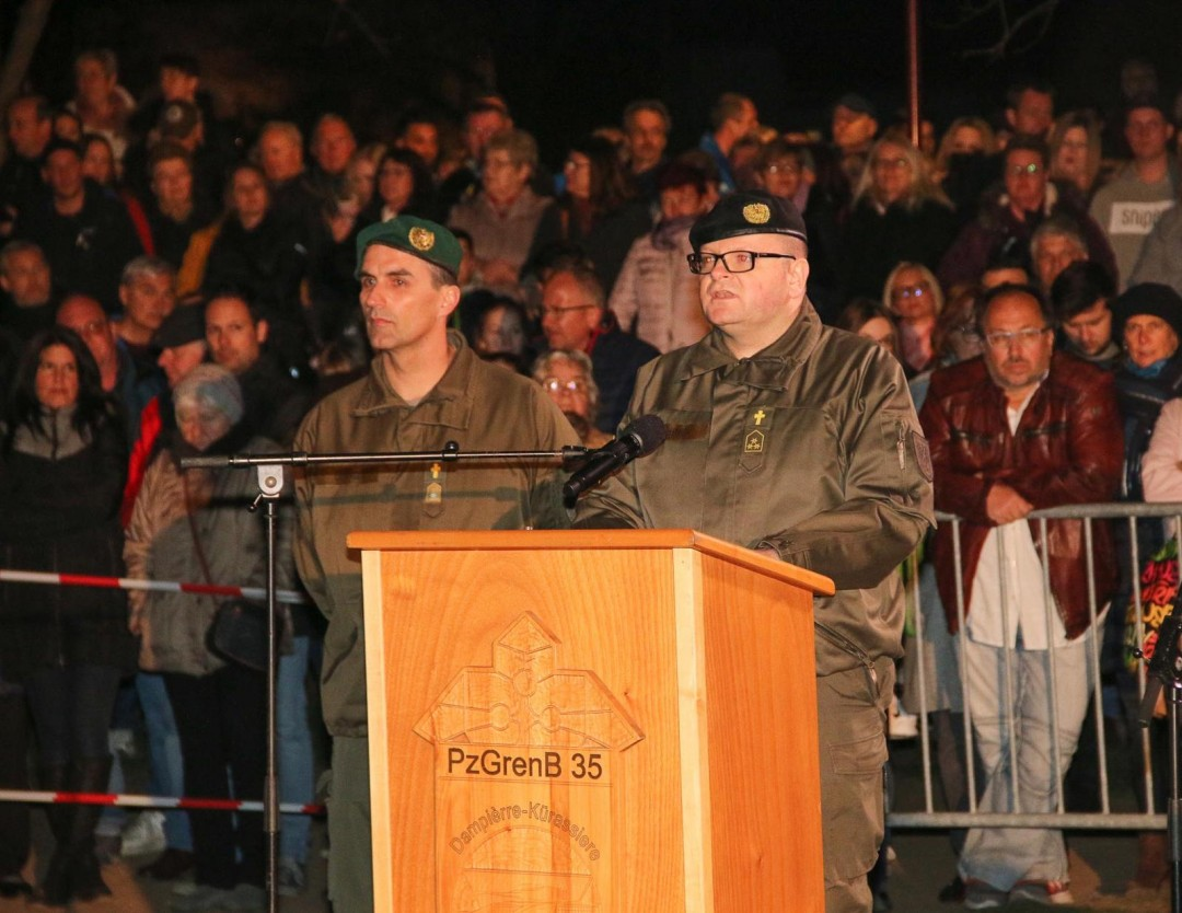 Angelobung des Österreichischen Bundesheeres in Pitten am 29. März 2019