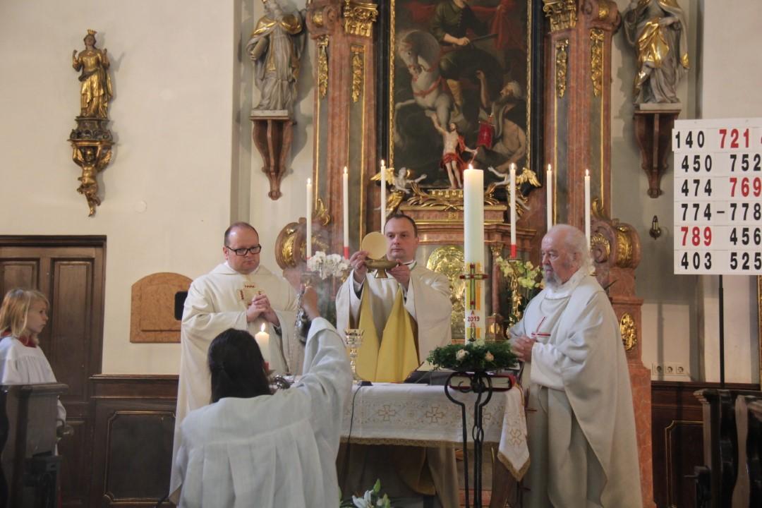 """Festgottesdienst zum Jubiläum """"1150 Jahre Pitten"""" am 1. Juni 2019"""