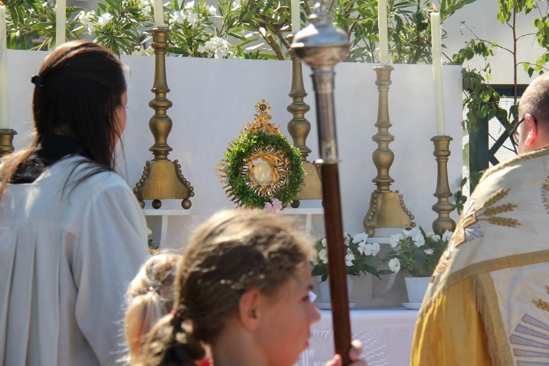 Fronleichnam 2019: Festgottesdienst in der Bergkirche mit anschließender Prozession zum Pfarrhof