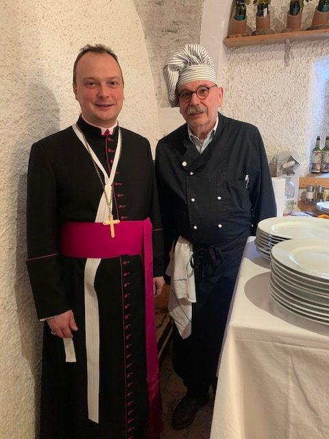 Kapitelmesse und Plenarkapitel der Reichersberger Chorherren am 4. März 2020 in Pitten